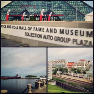 A few of the sights we saw while running in Cleveland on vacation.